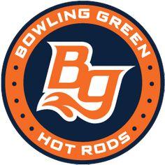 Bowling Green Hot Rods, (Bowling Green, Kentucky), Stadium: Bowling Green Ballpark #BowlingGreenHotRods #BowlingGreenKentucky #MidwestLeague (L5062)
