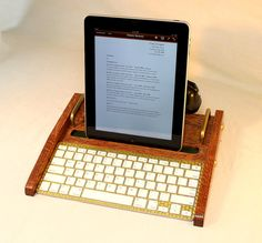 iPad Retro Headset Workstation   Tablet  Dock Phone by woodguy32, $119.00