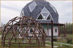 Купольный дом и сферическая теплица | Реальный пример