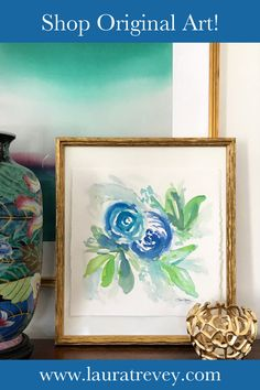 Shop colorful original art for your walls and dress up your living room, bedroom or favorite space!