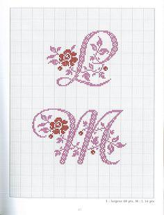 Gallery.ru / Фото #43 - belles lettres au point de croix - moimeme1