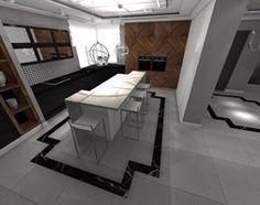 Kuchnia styl Glamour - zdjęcie od STUDIO WHITE Architektura Wnętrz