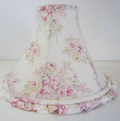 Shabby Chic Pink Rose Lamp Shade Rachel Ashwell
