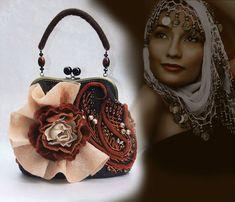 Валяние. Цветочные сумочки Ольги Гуляевой