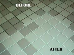 Green Tile Grout Cleaner Green Spring Cleaning Recipe for the Grout :) 7 cups water, cup baking soda, cup lemon juice and cup vinegar - throw in a spray bottle and spray your floor, let it sit for a minute or two. then scrub : Cleaners Homemade, Diy Cleaners, Cleaning Recipes, Cleaning Hacks, Floor Cleaning, Green Cleaning, Cleaning Spray, Cleaning Supplies, Bathroom Cleaning