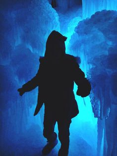 Midway Ice Castles photography by Hannah Johnson.