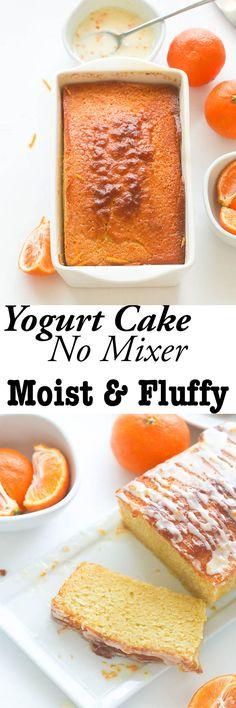 French Yogurt Cake -