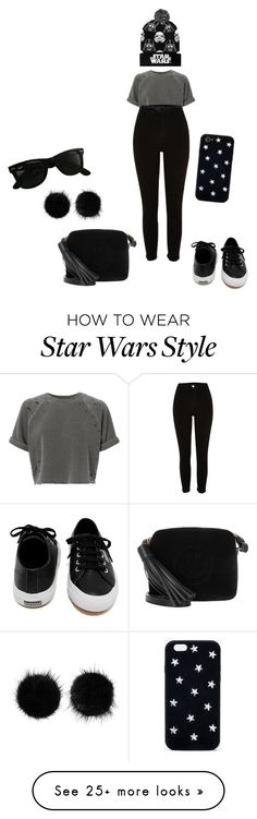 """✨"" by lena1612 on Polyvore featuring NSF, River Island, Lowie, Loungefly, Wild & Woolly, Anya Hindmarch, Superga, Ray-Ban, STELLA McCARTNEY and Marvel"