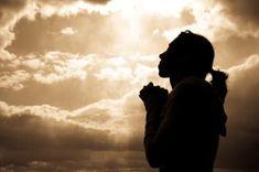 A Sweet Prayer Silhouette