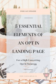 5 Essential Elements of an Opt In Landing Page - Sales Email - Ideas of Sales Email - 5 Essential Elements of an Opt In Landing Page Digital Marketing Strategy, Business Marketing, Content Marketing, Social Media Marketing, Online Business, Business Tips, Marketing Logo, Craft Business, Affiliate Marketing