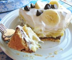 PEANUT BUTTER-CHOCOLATE BANANA PIE « The Southern Lady Cooks