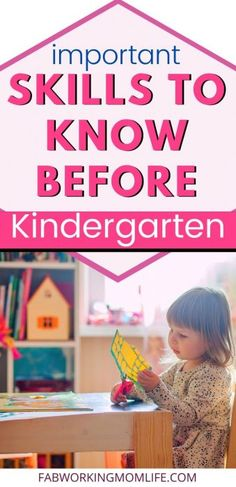 Kindergarten Readiness Checklist - Skills your child will need for Kindergarten - As we're going through the Kindergarten checklists ourselves, I wanted to share the journey and help you prepare your child for Kindergarten, too. Kindergarten Checklist, Before Kindergarten, Kindergarten Readiness, Kids Learning Activities, Fun Learning, Toddler Activities, Toddler Learning, Educational Activities, Chore Chart Kids