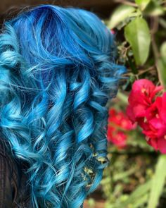Ice Hair, Mermaid Hair, Tropical, Long Hair Styles, Beauty, Instagram, Women, Beleza, Women's