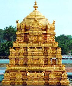 Tirupati Temple, the dome