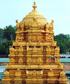 Tirupati Temple, the dome