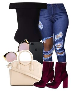 Untitled #883 by sassy-akia on Polyvore featuring polyvore Miss Selfridge Givenchy Fendi fashion style clothing