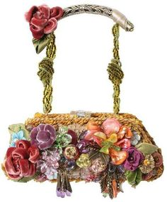 Mary Frances Handbag - I already have one of her guitar bags - but I would love to add this one to my collection! Vintage Purses, Vintage Bags, Vintage Handbags, Mary Frances Purses, Mary Frances Handbags, Beaded Purses, Beaded Bags, Beautiful Handbags, Beautiful Bags