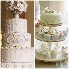 Vintage Wedding Cake Ideas | Onweddingideas.com