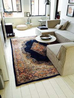 Perzisch tapijt bij ons thuis - Persian rug at our home