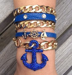 Anchor Blue Stack