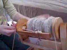 Spinning Alpaca Yarn