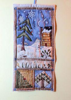 Voglio il mondo a colori - Pannello 4 stagioni - Inverno