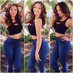 Fashion Nova High Waist Jeans Medium Blue Classic High Waist