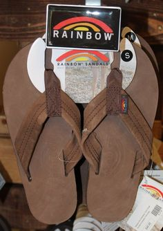 a79c7bba864539 Rainbow Flip Flops Thick Strap Expresso  48.95
