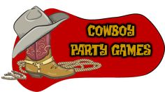 Top Cowboy party games for your rootin' tootin' cowboy birthday party. Creative D.Y games for your little cowboys birthday party Cowboy Party Games, Rodeo Party, Cowboy Theme Party, Cowboy Birthday Party, Kids Party Games, Western Party Games, Western Theme, Birthday Parties, Animal Birthday