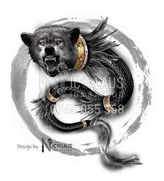 Warrior Tattoos, Symbolic Tattoos, Get A Tattoo, Tatoos, Wolf, Lion Sculpture, Geek Stuff, Flag, Symbols