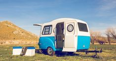 I Thought This Tiny Camper Would Feel Cramped, But It's Like 5 Rooms In 1! via LittleThings.com
