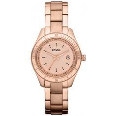 -   Les soldes d'été Chic Time  -    >> La montre dorée ES3019 Mpour femme de Fossil