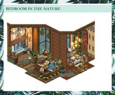 Habbo Hotel, Victorian Design, Room Ideas Bedroom, Minecraft, Draw, City, Nature, Bedroom Designs, Games