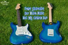 Fender Stratocaster Dale Wilson Master Built NOS Caribbean Blue  Guitar Link: http://wildwestguitars.com/NEW-ARRIVALS/dis-prod_1938_standard.html#sthash.7KNSm1tP.dpuf
