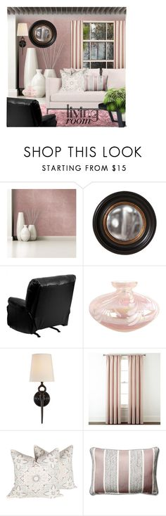 """""""Living Spaces~"""" by rj-cupcake ❤ liked on Polyvore featuring interior, interiors, interior design, home, home decor, interior decorating, Devine Color, Frontgate, Flash Furniture and AERIN"""