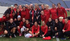 Elijah wished to meet the US Womans Soccer Team!