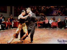 Javier Rodriguez y Moira Castellano en Tango Brujo - Salón Canning 2/4 - YouTube