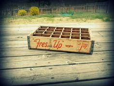 vintage 7up crate! $25