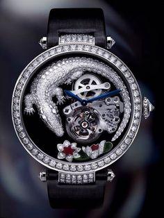 """Cartier montre tourbillon et crocodile par luydmila Une """"grande complication…"""