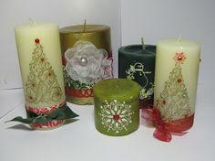Alica's: Christmas candles