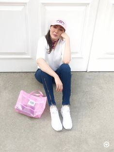 Hello! Pink casual Sunday 💓 http://liketk.it/2v2iE #liketkit @liketoknow.it #LTKunder100 @liketoknow.it.family To get the product details for this look and others, follow me on the LIKEtoKNOW.it app