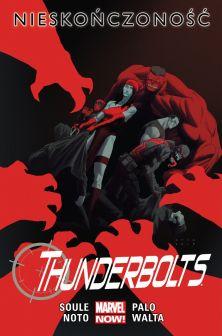 "Charles Soule (sc.), Phil Noto & Jefte Palo (rys.), ""Thunderbolts #3: Nieskończoność"", tłum. Paulina Braiter, Egmont Polska, 2016."