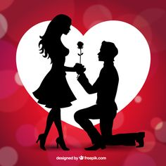 Girl propose you boy photos for valentine day happy - Boy propose girl with rose image ...
