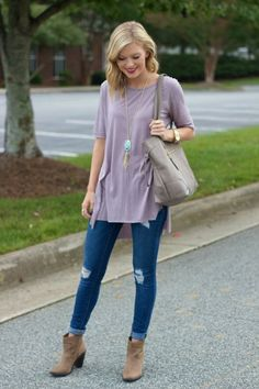 Latest Fall Fashion Outfits with Boots for Teens (16)