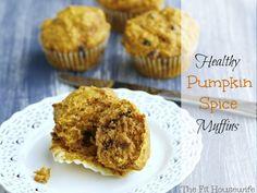 healthy pumpkin spice muffins picm Healthy Pumpkin Spice Muffins