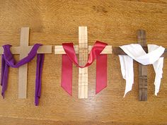 Lent to Easter Crosses for understanding the Liturgical Year