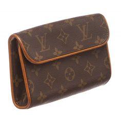 9eb1cf48dc95 Louis Vuitton Monogram Florentine Pochette Waist Bag