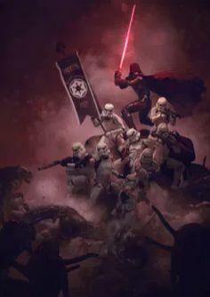 Star Wars Fan Art, Star Wars Film, Star Wars Poster, Star Trek, Anakin Vader, Darth Vader, 501st Legion, Images Star Wars, Star Wars Pictures