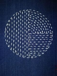 """"" Japanese boro Sashiko, slow stitch Patch, hand sewn from natural recycled fabrics. """" Japanese boro Sashiko slow stitch Patch hand sewn from Hand Embroidery Stitches, Embroidery Patches, Hand Embroidery Designs, Embroidery Techniques, Sewing Techniques, Embroidery Patterns, Embroidery Scissors, Sewing Patches, Embroidery Supplies"