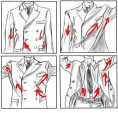 Karakter Giysi - Erkek Giyim 4 / Character Clothes - Menswear 4 #draw #drawing…